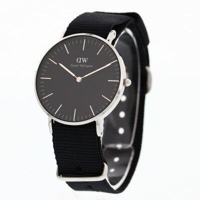 Daniel Wellington/ダニエル ウェリントンClassic Black Cornwall DW0010015136mm 腕時計 黒文字盤 NATO【対応_東海】 [新品][1年保証][ラッピング無料]