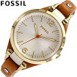 FOSSIL / フォッシル ES3565腕時計/レザーベルト/レディースGeorgia/ジョージア 【あす楽対応_東海】