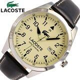 LACOSTE/ラコステ2010782腕時計/レザーベルト/メンズ【あす楽対応_東海】