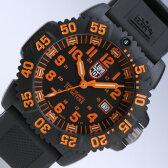 LUMINOX/ルミノックス3059 ブラック+オレンジ(ラバーベルト) SWISS QUARTZ/Navy SEALs DIVE WATCH 3050 COLORMARK SERIES T25表記あり 【あす楽対応_東海】