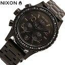NIXON/ニクソン A4041879 38-20 CHRONO ALL BLACK CRYSTAL【あす楽対応_東海】
