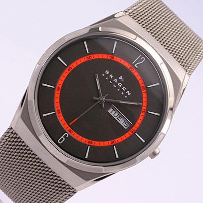SKAGEN/スカーゲンSKW6007/メンズ腕時計 ステンレスメッシュベルト /MEN'S 【対応_東海】 [新品][1年保証][ラッピング無料]