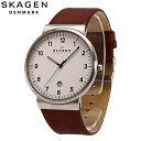 SKAGEN / スカーゲンSKW6082 ブラウン メンズ / 腕時計 革ベルト 【あす楽対応_東海】