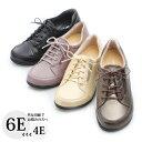 外反母趾 靴 4E 5E 6E街歩きはもちろん身近なお出かけにも活躍。『オブリークヒモシューズ』外反拇趾 幅広 カジュアルシューズ