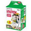 FUJI FILM(富士フィルム)チェキフィルム instax mini 2PK 20枚入