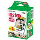 FUJI FILM���ٻΥե����˥������ե���� instax mini 2PK��20����