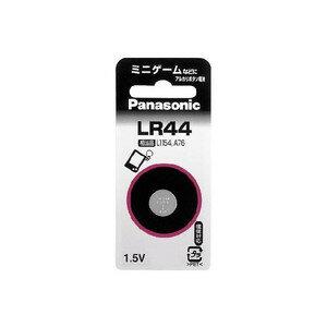 パナソニック アルカリボタン電池 LR44