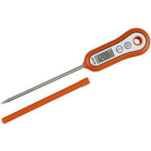 供TANITA(Tonita)烹調使用的的杆温度計TT-533-OR(桔子)