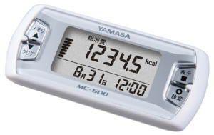 彌政啟動磁碟區計計步器我卡路里 (熱量) MC 500 W 白色