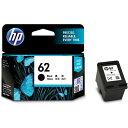 HP C2P04AA 純正 HP62 インクカートリッジ ブラック