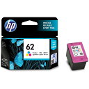 HP C2P06AA 純正 HP62 インクカートリッジ 3色マルチパック
