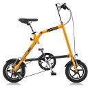 ナノー NANOO FD-1207 12インチ 折りたたみ自転車 18359(オレンジ)