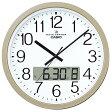 CASIO IC-4100J-9JF シャンパンゴールド 電波掛け時計