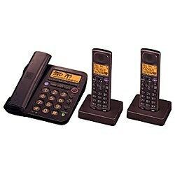 【長期保証付】シャープ JD-G55CW-T(ブラウン) デジタルコードレス電話機 子機2台