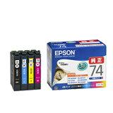 エプソン IC4CL74 純正 インクカートリッジ 4色パック