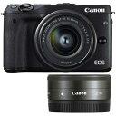 CANON EOS M3 ダブルレンズキット2(ブラック)