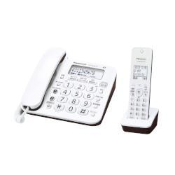 パナソニックVE-GD24DL-W(ホワイト)_デジタルコードレス電話機_子機1台