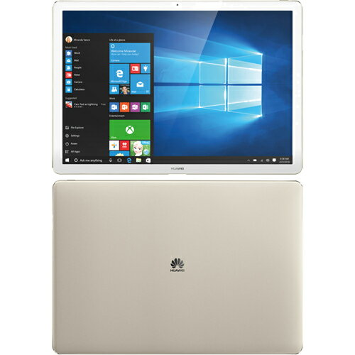 HUAWEI HZ-W19-8G-256G-GOLD(ゴールド) MateBook Wi-Fiモデル 12型 256GB
