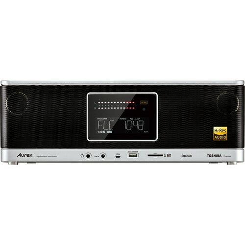 東芝 TY-AH1000-S(シルバー) ハイレゾ対応SD/USB/CDラジオ ハイレゾ対応