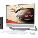 NEC PC-DA770FAW(ファインホワイト) LAVIE Desk All-in-one 23.8型液晶 TVチューナー搭載