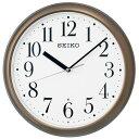 セイコー KX218B(茶メタリック) 電波掛け時計