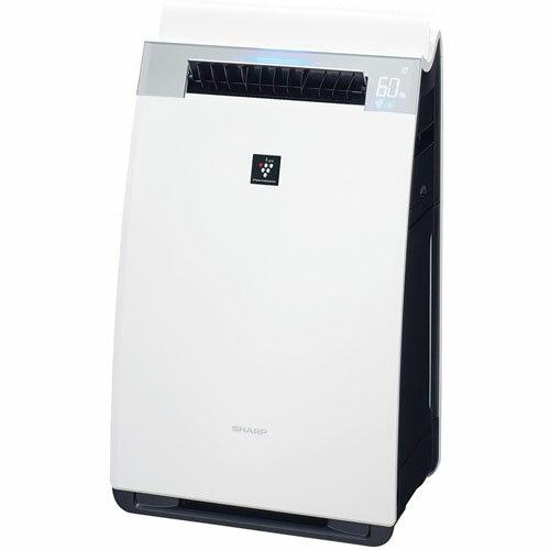 シャープ KI-GX75-W(ホワイト) プラズマクラスター加湿空気清浄機 空気清浄34畳/加湿21畳