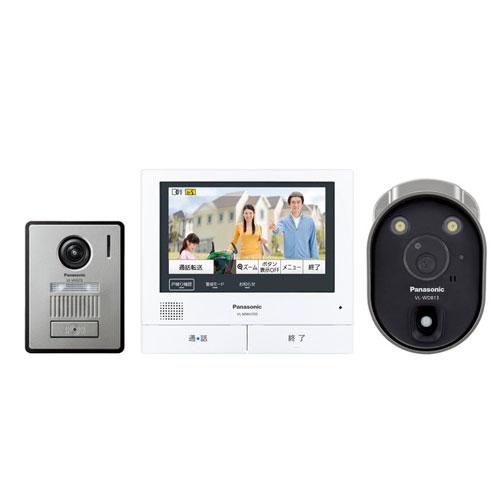 パナソニック 外でもドアホン テレビドアホン ワイヤレスカメラ付 VL-SVH705KLC