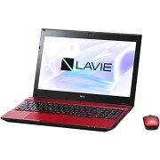 【長期保証付】NEC PC-NS350HAR(クリスタルレッド) LAVIE Note Standard 15.6型液晶