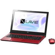 【長期保証付】NEC PC-NS150HAR(ルミナスレッド) LAVIE Note Standard 15.6型液晶