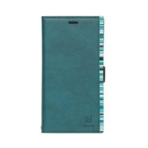 NATURALdesign IP8ACB06(ターコイズ) iPhoneX用手帳型