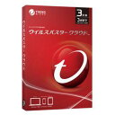 トレンドマイクロ ウイルスバスター クラウド 3年版 Win&Mac&Android TICEWWJCXSBUPN3701Z