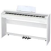 【設置】CASIO PX-770-WE(ホワイトウッド調) Privia(プリヴィア) 電子ピアノ 88鍵盤