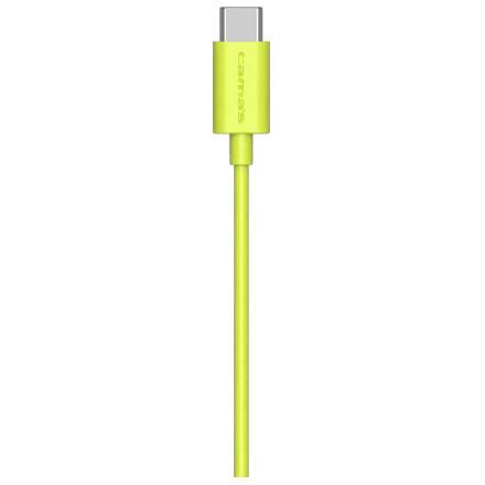 多摩電子工業 TH101CA10G(グリーン) Type-C to USB-A ストレートケーブル 1m