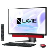 NEC PC-DA770KAR(メタルレッド) LAVIE Desk All-in-one 23.8型液晶