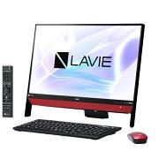 NEC PC-DA370KAR(ラズベリーレッド) LAVIE Desk All-in-one 23.8型液晶