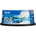 マクセル BRV25WPE.30SP 録画・録音用 BD-R 25GB 一回(追記) 録画 プリンタブル 4倍速 30枚