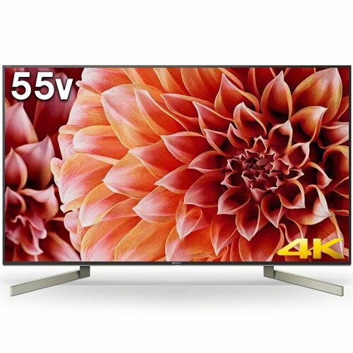【設置+長期保証】ソニー KJ-55X9000F 4K液晶テレビ 55V型