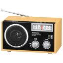 オーム電機 RAD-T556Z AudioComm 木製ラジオ