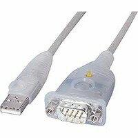 サンワサプライ USB-CVRS9 USB-RS232Cコンバーター 0.3m