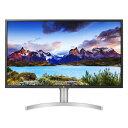 LGエレクトロニクス 32UL750-W 31.5型 4Kディスプレイ DisplayHDR600対応