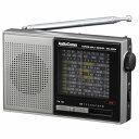 オーム電機 RAD-S520N AM/FM/SW ハンディ短波ラジオ