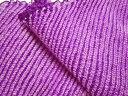正絹 鹿の子絞り(古代紫) 30cm単位 切り売り 布地 和生地 和柄生地 和柄 和風