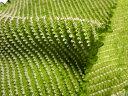 正絹 鹿の子絞り(緑) 30cm単位 切り売り 布地 はぎれ 和生地 和柄生地