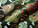 京都西陣織 金襴 生地 舞楽具尽くし 10cm単位 切り売り 布地 はぎれ 和柄 生地 よさこい きんらん 金らん