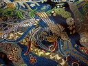 京西陣・金襴 生地 鳳凰雅錦(艶紺) (和布 和生地 和柄生地 和柄 和風)05P01Oct16