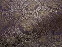 京西陣・正絹 錦裂  狩猟文錦(紫) (和布 和生地 和柄生地 和柄 和風)05P01Oct16