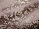 京西陣・正絹 錦裂  ひょうたん(紫) (布 和 和柄 和風 生地 茶 袱紗 仕覆)05P01Oct16