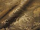 京西陣・正絹 錦裂  波文 (布 和 和柄 和風 生地 茶 袱紗 仕覆)05P01Oct16
