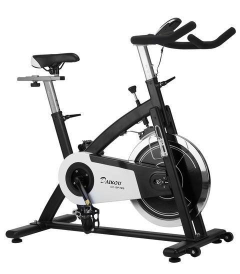 ダイコウ/DAIKOU スピンバイク DK-SP726 フィットネスバイク エクササイズバイク フィットネスマシン 固定自転車 心拍数 室内運動器 0824カード分割
