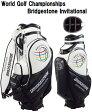 ゴルフ/BRIDGESTONE GOLF WGCブリヂストン インビテーショナル大会記念モデル キャディバッグ CBWG50